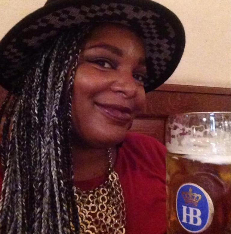 Having A Pint At Hofbrauhaus
