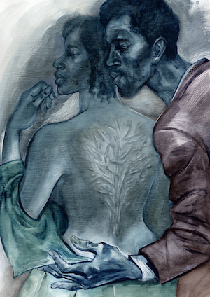Illustrations by Joe Morse for The Folio Society edition of Toni Morrison's Beloved