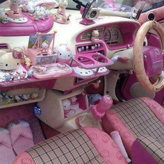 Welcome to Hello Kitty fandom, automobile style