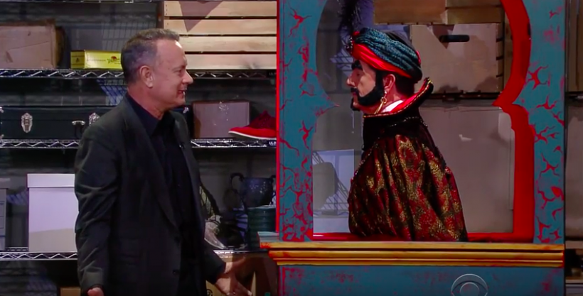 Hanks and Zoltar meet again.