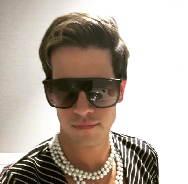 "Milo Yiannopoulos reaches the limit for his ""free speech"" argument. (Image Credit: Instagram/milo.yiannopoulos)"