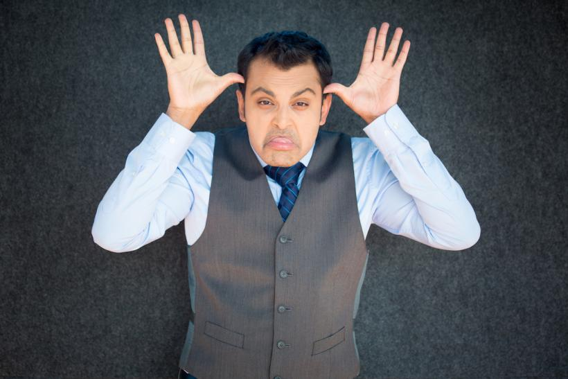 "It isn't ""political correctness"" to ask you not to be an asshole. (Image: Thinkstock)"