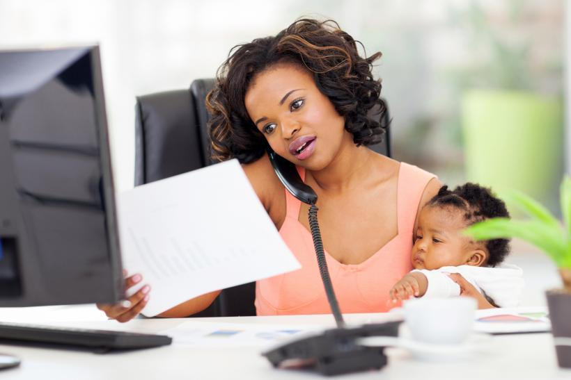 Work can feel like a break from parenting, and that can actually help make me a better parent.