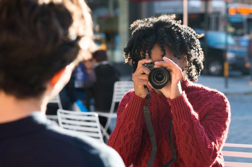 """I spent quite a few of my preteen and early teen years enjoying taking pictures. But because of the combination of racism, fat antagonism, and lookism, I wasn't always comfortable getting in front of the camera."" Image: Thinkstock"