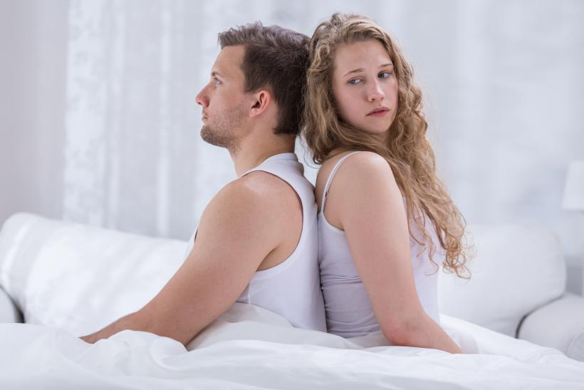 Why aren't the feelings of the woman valid? Shouldn't she be listening to her body? Her mind? Image: Thinkstock