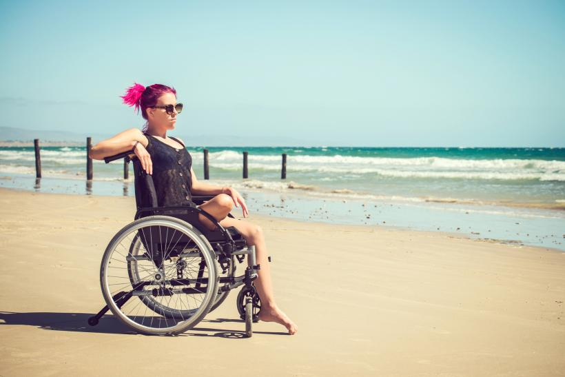 """Hearing that you are pretty 'for someone in a wheelchair' is a compliment that leaves a bad aftertaste."" Image: Thinkstock"