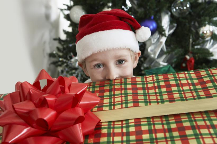Sticking to the three present rule is much harder for the parents buying presents than the kids receiving.