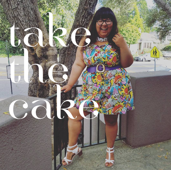 I felt super cute in a dress that exposed every inch of my big, wobbly arms, and that felt like a total triumph. But it reminded me of the limitations of cuteness as a measure of freedom. Image: Virgie Tovar/Instagram.