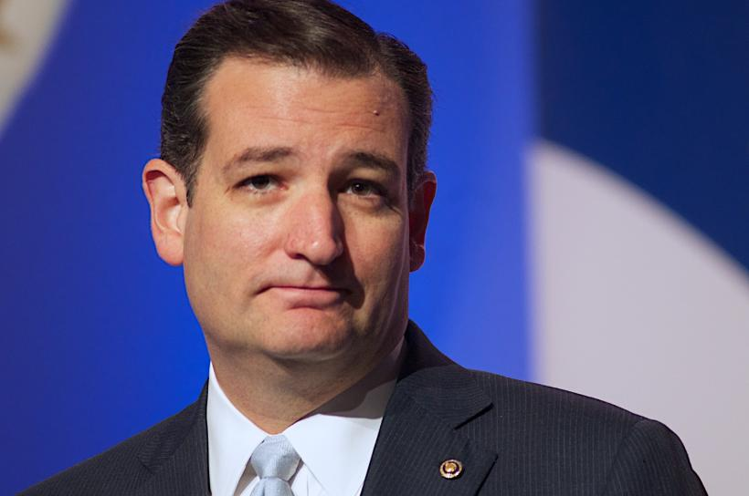 "His hatred of all things pleasure-based is no surprise to anybody. Image: ""ted cruz is smug"" by Jamelle Boule/Flickr. CC BY 2.0"