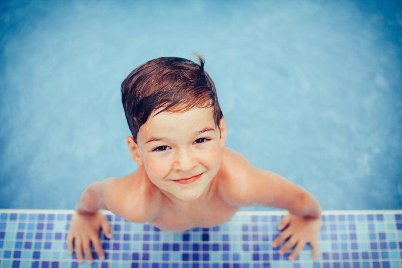 Never leave him alone — in the pool, the bath, anything. Image: Thinkstock.
