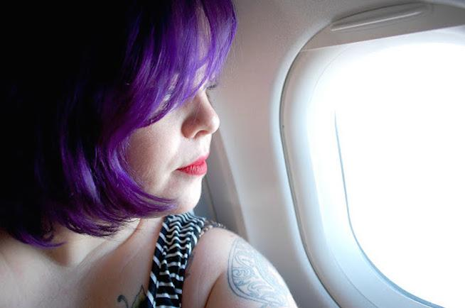 Jes Baker, The Militant Baker. Flying while fat.