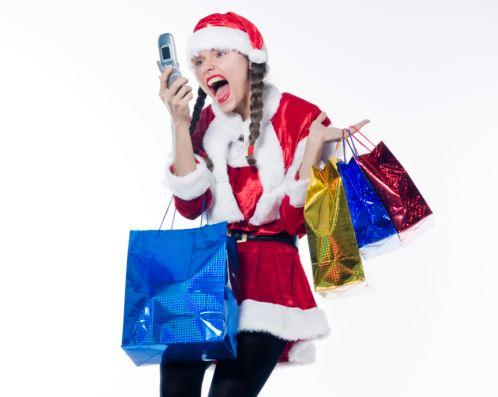 Shopping: not for the faint of heart (Credit: ThinkStock)