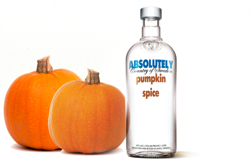 Cozy on up to a bottle of pumpkin spice vodka and let all your fall fantasies come true.
