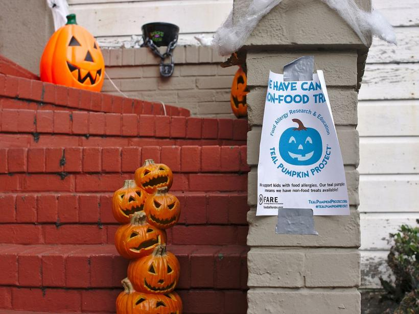 We are joining the Teal Pumpkin Project again this Halloween. Photo by: Alexander Klink