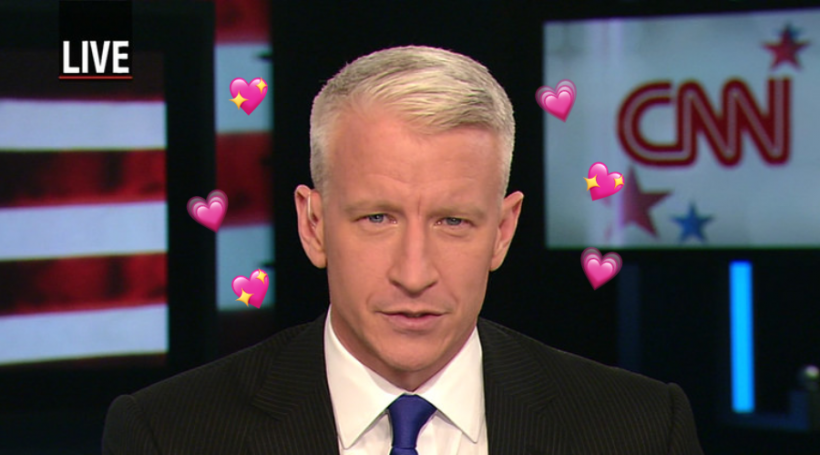 Anderson Cooper is here for the truth, the whole truth, and nothing but the truth — and I am here for Anderson Cooper.