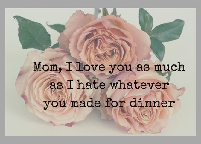 Wouldn't it be nice to get Mother's Day cards from your kids that showed they actually get you?