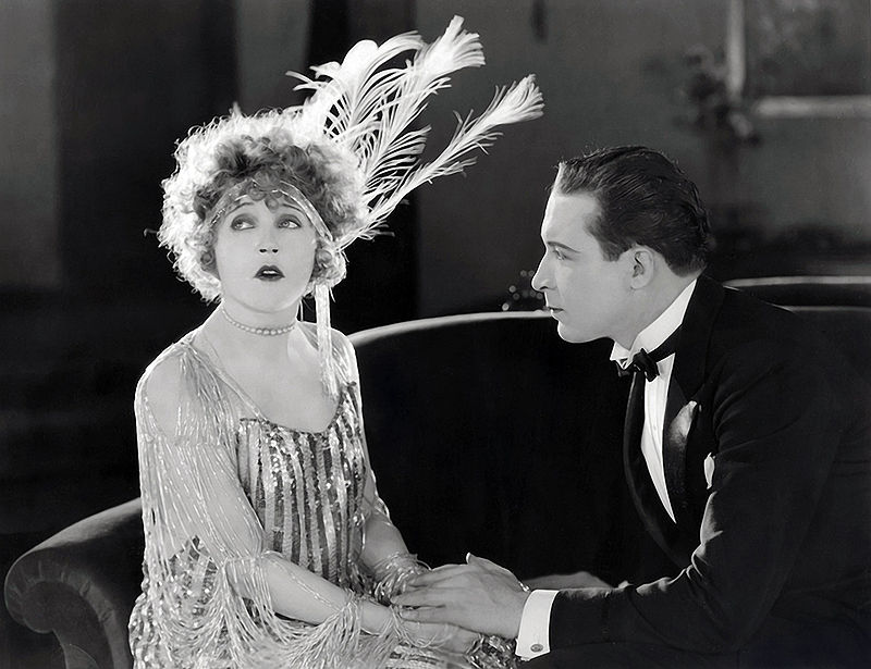 Mae Murray and Monte Blue in Broadway Rose