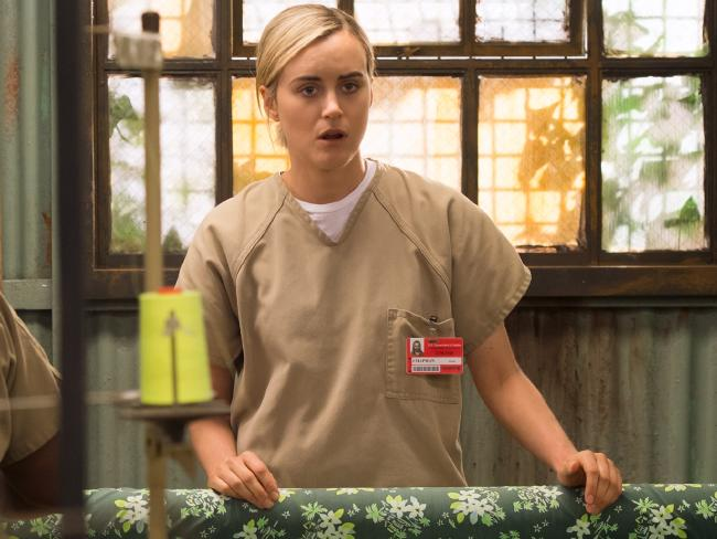 Piper Chapman stares off into space. Image: Netflix.