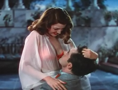 Rita Hayworth and Tryone Power in Blood and Sand