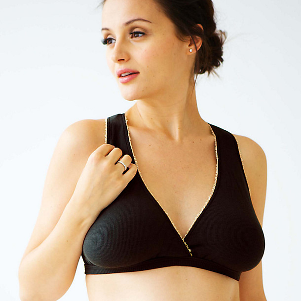 Boobs gone wild? Try a sleep bra, like this one from Belabumbum.