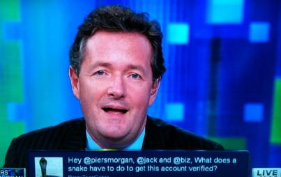 Piers, just cool it buddy.