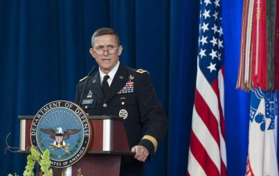 Flynn talked to Russians about lifting sanctions before Trump took office. Now, he's out. (Image Credit: Flickr/Jim Mattis)