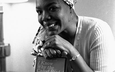Maya Angelou's life and writings are a national treasure. (Photo: November 3, 1971 Credit: © WF/AP/Corbis)