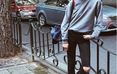 "Wear a sweatshirt that says ""I meant to put this on"" (Image Credit: Instagram, McQ)"