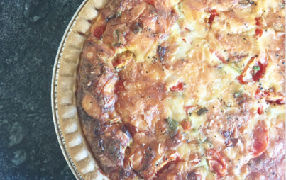 This quiche recipe comes with the added bonus of some quiche-making secrets. Enjoy!