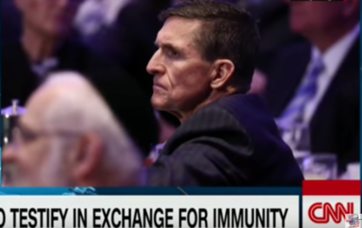 Will anyone take Mike Flynn up on his immunity offer? And what is up with how cute hippos can be?? (Image Credit: YouTube/Freedom of Press)