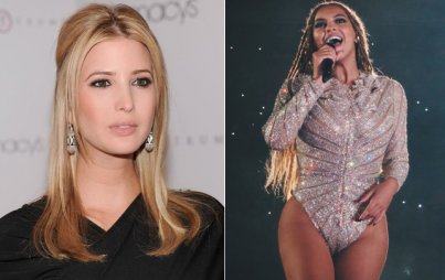 Queen Bey or Ivanka - who won the week in feminism? (Image Credit: By Rocbeyonce via Wikimedia Commons; Flickr/Rich Girard)