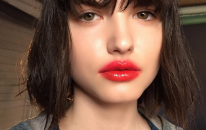 Blurred lips are perfectly imperfect. Here's how to copy this trend. (Image Credit: Instagram/mirrortwin)