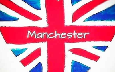 """Right now, I'm simply heartbroken for the the dead and injured, for their families, for the people of Manchester, and for the performers and technicians creating the music last night."" (Image Credit: Instagram/manchestertribute)"
