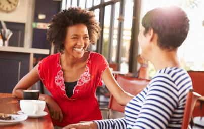 In order to maintain integrity in a conversation and not fall victim to gossip's trap, the practice is to keep coming back to the intention behind the conversation. Image: Thinkstock.