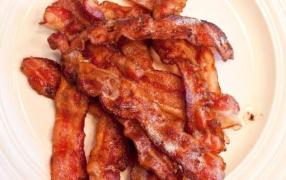 "A day or two following what my friends now call ""The Bacon Incident,"" I broke it off. Image: Thinkstock."