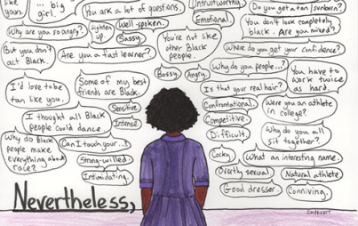 "Raven Matthews worked to overcome multiple obstacles, her life an embodiment of ""Nevertheless, she persisted."" (Image Credit: Courtney Privett)"