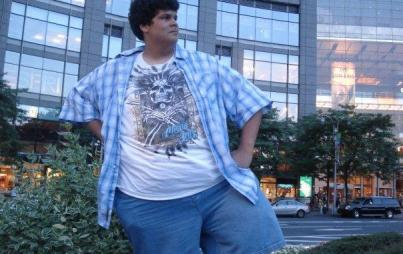 16-year-old, 500-pound me. Image: supplied.