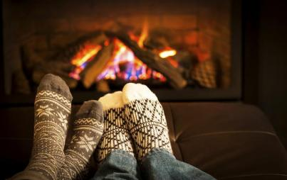 Just add socks and fire. Boom: hygge.
