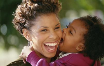 I, like most moms, just do what feels right. Just like my mom did. Image: Thinkstock.