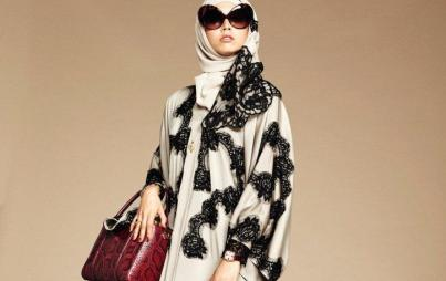 From the Dolce & Gabbana hijab and abaya collection