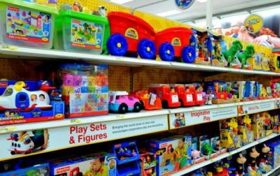 Gender-neutral toys at Target.