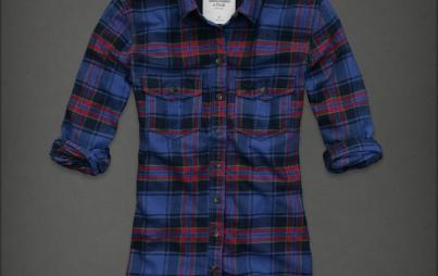 plaid shirt by Abercrombie and Fitch