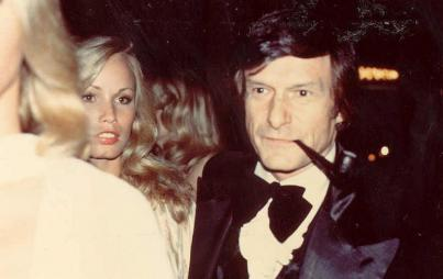 Hugh Hefner: cigar smoker, boob liberator (Credit: Wikimedia Commons)