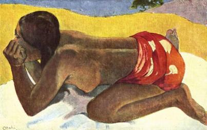 "Paul Gauguin, ""Alone"""