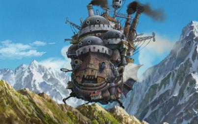 Still from Howl's Moving Castle