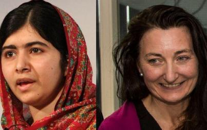 Malala Yousafzai and May-Britt Moser