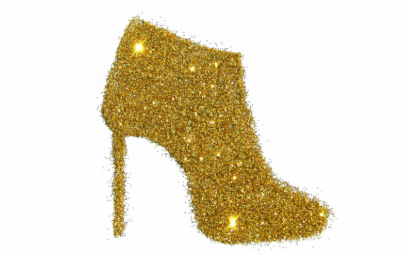 There's nothing demure about a glitter boot or these other statement booties.
