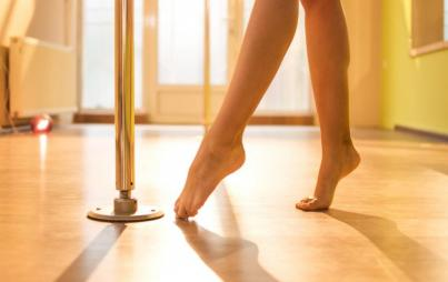 How I lost and found myself through pole dancing after becoming a mom.