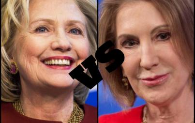Hillary vs. Carly, Presidential Showdown