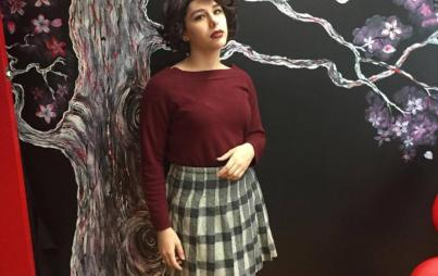 Chadai C as Audrey Horne.
